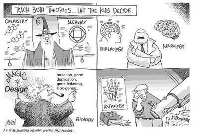 gegner der evolutionstheorie