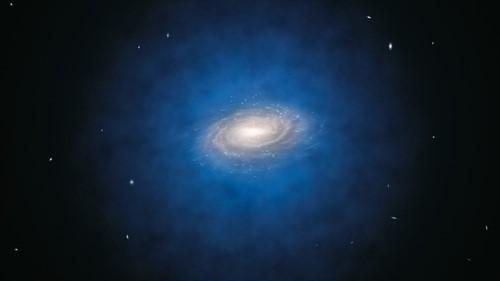 Dunkle Materie in der Milchstraße